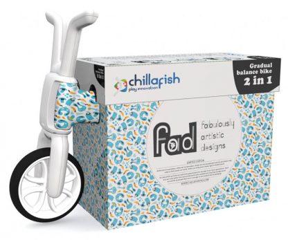 Беговел-каталка 2 в 1 для детей от 1 года Chillafish Bunzi FAD Bunny Mish Mash Зайчики - 2