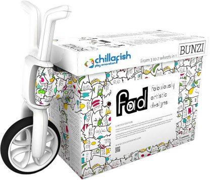 Беговел-каталка 2 в 1 для детей от 1 года Chillafish Bunzi FAD Catmouflage Котята - 9