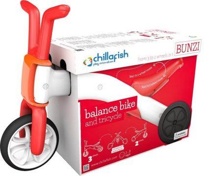 Беговел-каталка 2 в 1 для детей от 1 года Chillafish Bunzi красный - 6