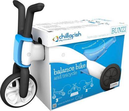 Беговел-каталка 2 в 1 для детей от 1 года Chillafish Bunzi синий - 6