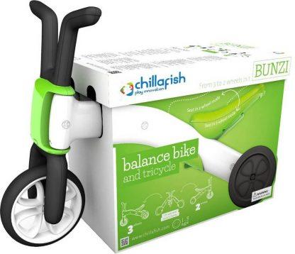 Беговел-каталка 2 в 1 для детей от 1 года Chillafish Bunzi зелёный - 6