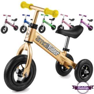 Беговел-каталка 2 в 1 с надувными колёсами Small Rider Jimmy - все цвета
