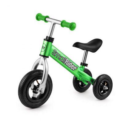 Беговел-каталка 2 в 1 Small Rider Jimmy с надувными колёсами зелёный - 1