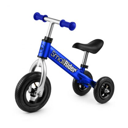 Беговел-каталка 2 в 1 Small Rider Jimmy с надувными колёсами синий - 1