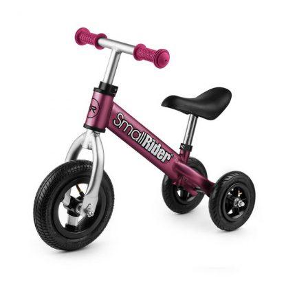 Беговел-каталка 2 в 1 Small Rider Jimmy с надувными колёсами вишнёвый - 1