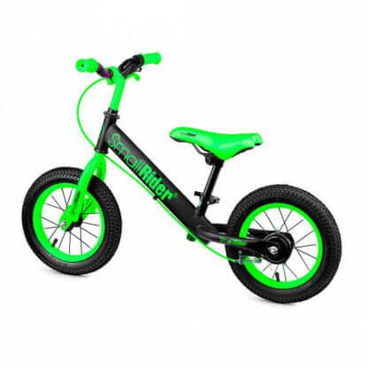 Беговел с ручным тормозом надувными колёсами Small Rider Ranger 2 Neon Зелёный - 2