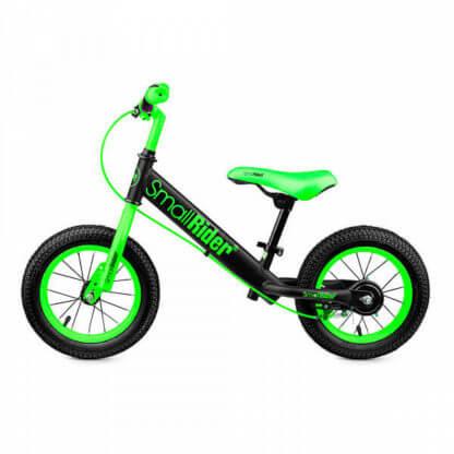 Беговел с ручным тормозом надувными колёсами Small Rider Ranger 2 Neon Зелёный - 3