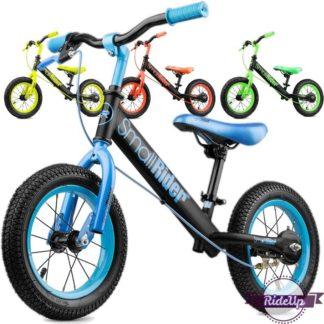Беговел Small Rider Ranger 2 Neon с ручным тормозом надувными колёсами - Синий, Зелёный, Оранжевый, Лайм