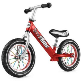 Детский алюминиевый беговел с надувными колёсами Small Rider Foot Racer Air красный - 1
