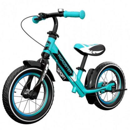 Детский алюминиевый беговел с надувными колёсами Small Rider Roadster 3 Sport Air Аква - 1