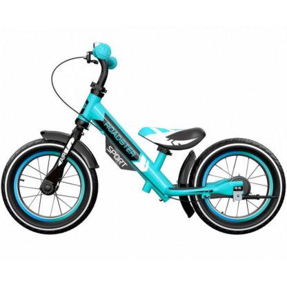 Детский алюминиевый беговел с надувными колёсами Small Rider Roadster 3 Sport Air Аква - 4
