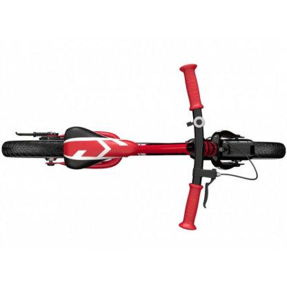 Детский алюминиевый беговел с ручным тормозом и надувными колёсами Small Rider Roadster 3 Sport Air Красный - 6
