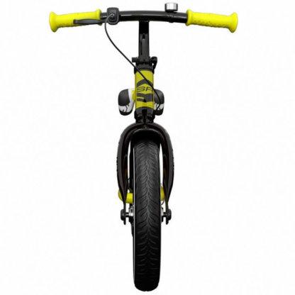 Детский алюминиевый беговел с ручным тормозом и надувными колёсами Small Rider Roadster 3 Sport Air Лайм - 5