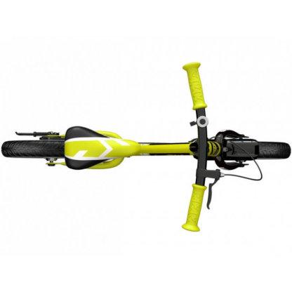 Детский алюминиевый беговел с ручным тормозом и надувными колёсами Small Rider Roadster 3 Sport Air Лайм - 6