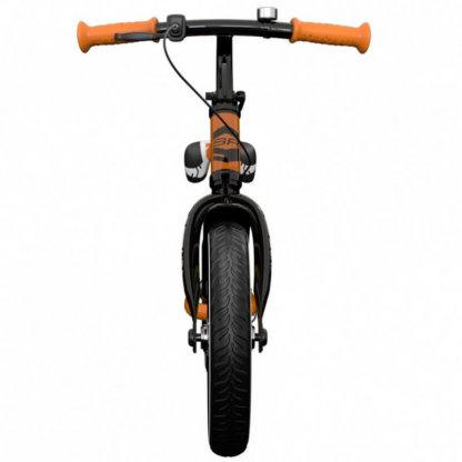 Детский алюминиевый беговел с ручным тормозом и надувными колёсами Small Rider Roadster 3 Sport Air Оранжевый - 5
