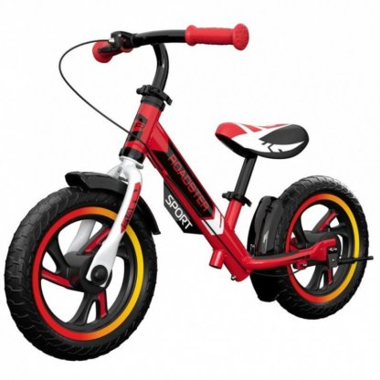 Детский алюминиевый беговел с ручным тормозом Small Rider Roadster 3 Sport EVA Красный - 1