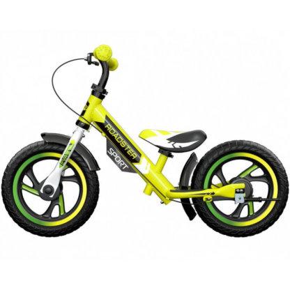 Детский алюминиевый беговел с ручным тормозом Small Rider Roadster 3 Sport EVA Лайм - 4