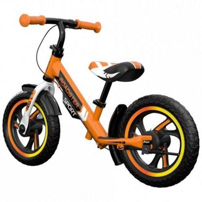 Детский алюминиевый беговел с ручным тормозом Small Rider Roadster 3 Sport EVA Оранжевый - 2