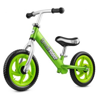 Детский алюминиевый беговел Small Rider Foot Racer Light EVA салатовый - 1