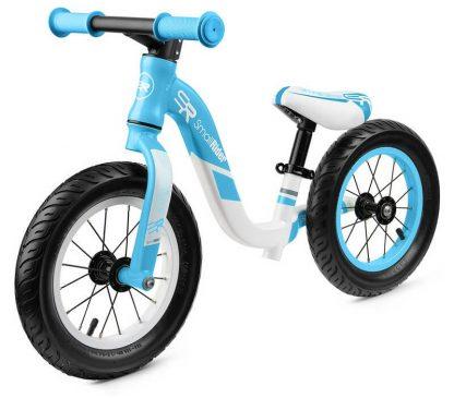 Детский алюминиевый беговел Small Rider Prestige Pro голубой - 1