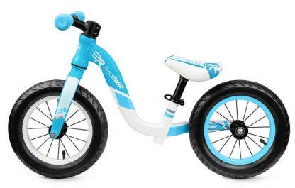Детский алюминиевый беговел Small Rider Prestige Pro голубой - 2