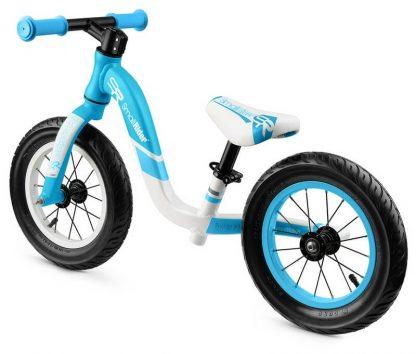 Детский алюминиевый беговел Small Rider Prestige Pro голубой - 4