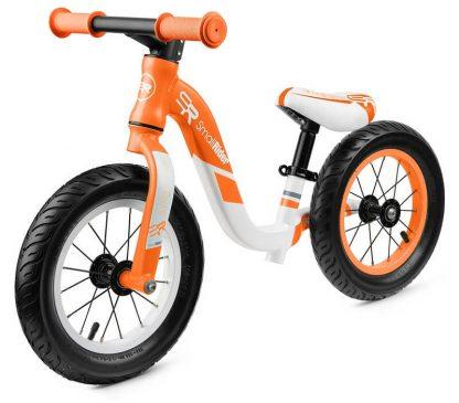 Детский алюминиевый беговел Small Rider Prestige Pro оранжевый - 1