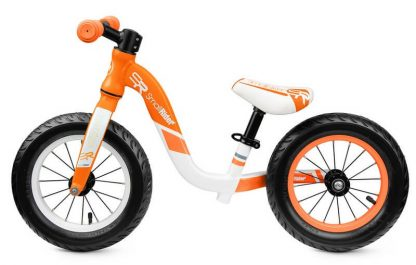 Детский алюминиевый беговел Small Rider Prestige Pro оранжевый - 2