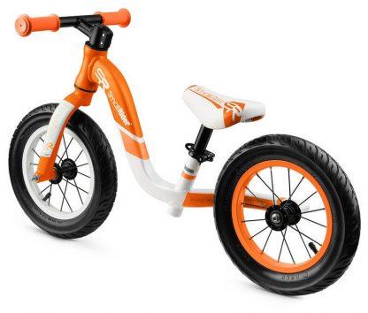 Детский алюминиевый беговел Small Rider Prestige Pro оранжевый - 4
