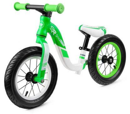 Детский алюминиевый беговел Small Rider Prestige Pro зелёный - 1