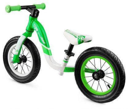 Детский алюминиевый беговел Small Rider Prestige Pro зелёный - 4