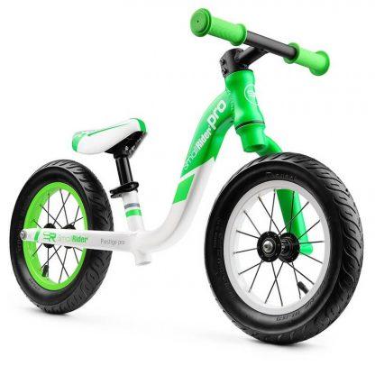 Детский алюминиевый беговел Small Rider Prestige Pro зелёный - 5