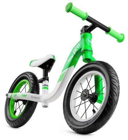 Детский алюминиевый беговел Small Rider Prestige Pro зелёный - 8