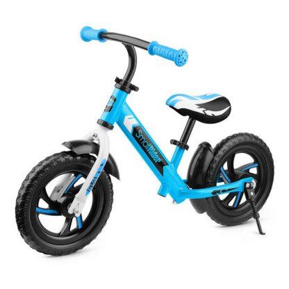 Детский алюминиевый беговел Small Rider Roadster 2 EVA голубой - 1