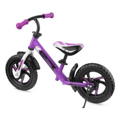 Детский алюминиевый беговел Small Rider Roadster 3 Classic EVA Фиолетовый - 3
