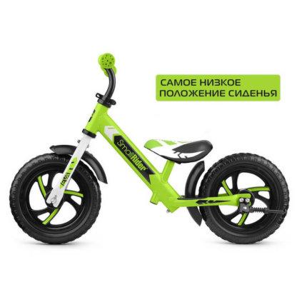Детский алюминиевый беговел Small Rider Roadster 3 Classic EVA Зелёный - 5