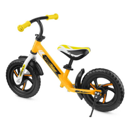 Детский алюминиевый беговел Small Rider Roadster 3 Classic EVA Жёлтый - 3