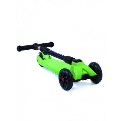 Трёхколёсный самокат со складной регулируемой ручкой и светящимися колёсами Triumf Active Maxi Pro Flash SKL-L-02 Зелёный - 2