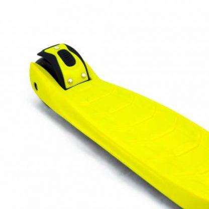 Трёхколёсный самокат со складной регулируемой ручкой и светящимися колёсами Triumf Active Maxi Pro Flash SKL-L-02 Жёлтый - 5