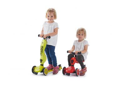 Детский трехколесный самокат-беговел Scoot&Ride HighwayKick 1 - 1
