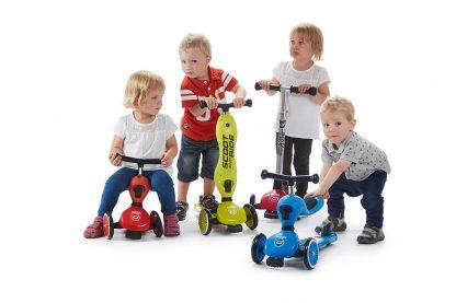 Детский трехколесный самокат-беговел Scoot&Ride HighwayKick 1 - 2