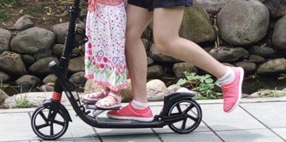 Самокат K2 с подставкой для ребёнка - 2