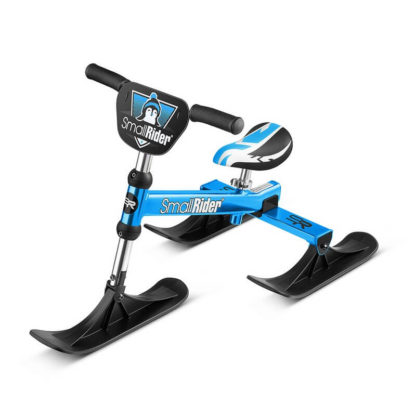 Лёгкий детский снегокат Small Rider TRIO Синий - 8