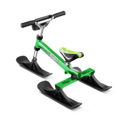 Лёгкий детский снегокат Small Rider TRIO Зелёный - 5