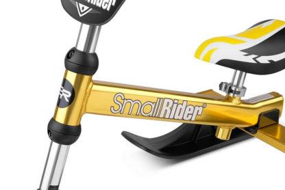 Лёгкий детский снегокат Small Rider TRIO Золотой - 11