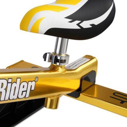 Лёгкий детский снегокат Small Rider TRIO Золотой - 12