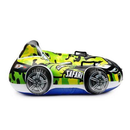 Бескамерный тюбинг Small Rider Snow Safari 2 Зелёный 105 см - 2