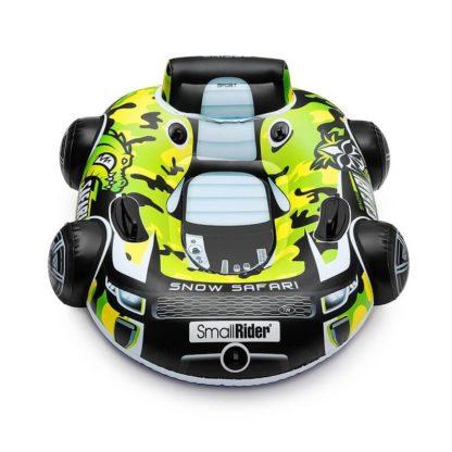 Бескамерный тюбинг Small Rider Snow Safari 2 Зелёный 105 см - 3