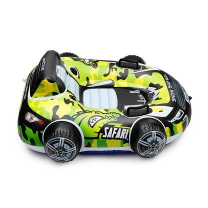 Бескамерный тюбинг Small Rider Snow Safari 2 Зелёный 105 см - 5