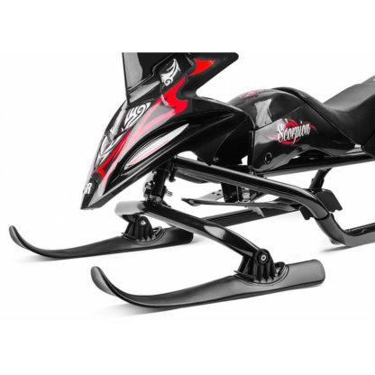 Small Rider Scorpion Duo Чёрно-красный крупным планом